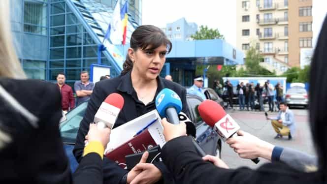 """Laura Codruța Kovesi, urmărită penal: """"Am făcut două recuzări. Nu am comis niciodată fapte penale"""""""