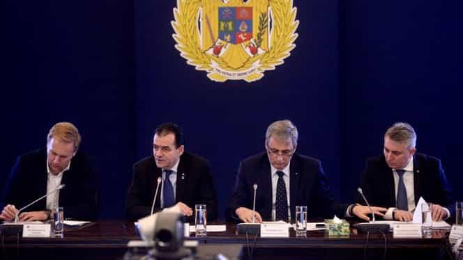 """Ședință de Guvern pe tema coronavirusului. Orban: """"Va trebui să mobilizați poliția de frontieră. Italia este zonă roșie. Avem nevoie de epidemiologi ca de aer"""""""