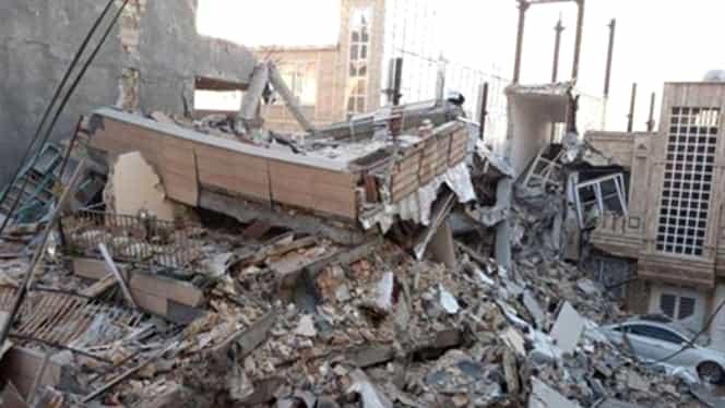 Cutremur devastator! Seismul a avut o magnitudine de 6,5 grade pe scara Richter