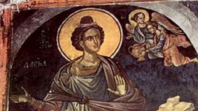 Calendar ortodox 17 decembrie: Sfântul Prooroc Daniel