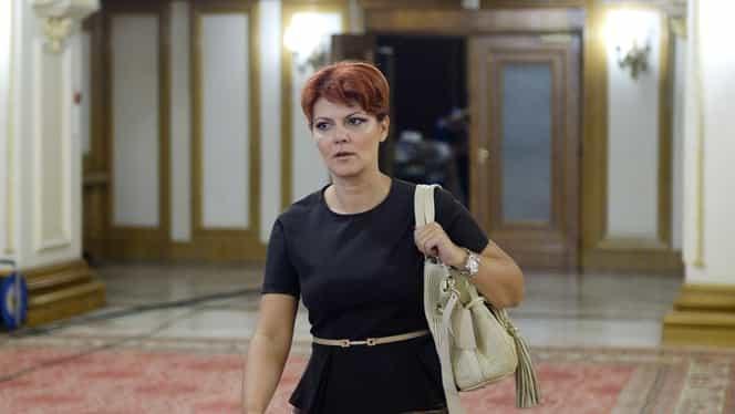 """Lia Olguța Vasilescu o contrazice pe Violeta Alexandru: """"În Revisal sunt 36.000 de contracte suspendate, nu 200.000"""""""