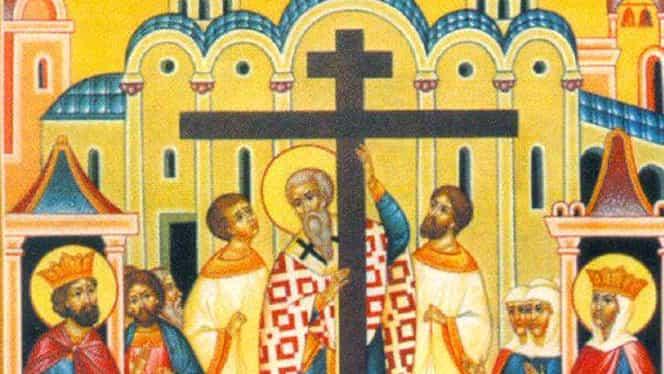 14 septembrie, Înălţarea Sfintei Cruci! Ce nu ai voie să mănânci astăzi!