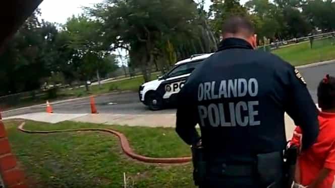 Caz șocant în SUA! Fetiță de 6 ani, încătușată și arestată de polițiști pentru că nu a fost cuminte la ore VIDEO