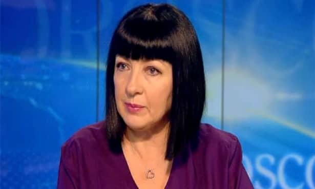 Neti Sandu, la un interviu la TV