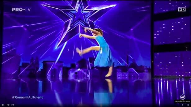 Emma Lixandru, fetiţa care a impresionat pe toată lumea la Românii au talent:
