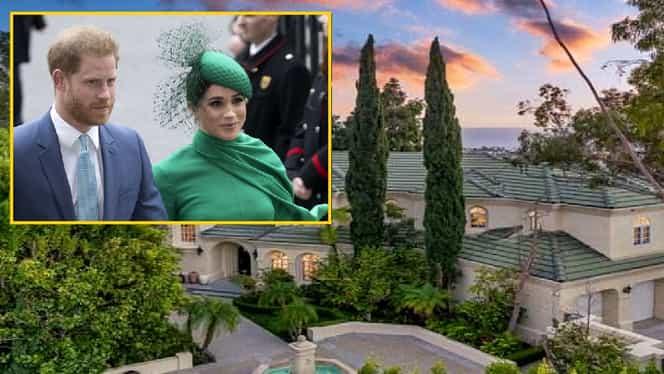 Cum arată vila pe care au pus ochii Meghan Markle și Prințul Harry și cât costă – Foto