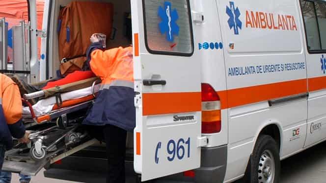 Intervenție de urgență la un liceu din Brașov! Un copil de 12 ani a căzut de la 5 metri înălțime