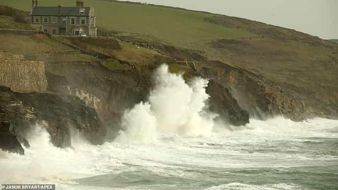 Furtuna Ciara face ravagii în Europa! Sute de zboruri anulate în Marea Britanie! Scoția e lovită din plin – VIDEO Update