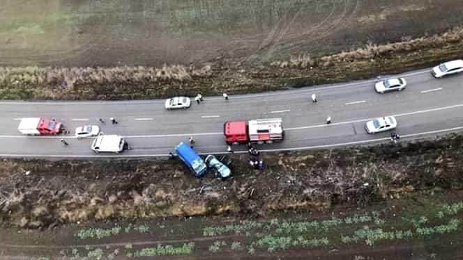 Accident teribil în Ajunul Căciunului! 3 oameni au decedat pe loc