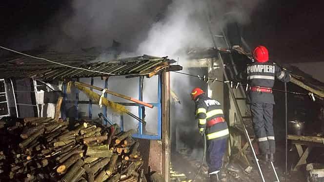 Tragedie în Ialomița! A murit în casa mistuită de flăcări
