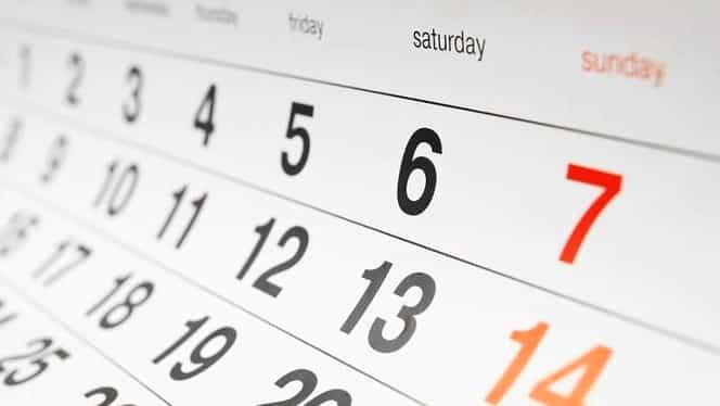 Câte zile are un an? Odată ce afli vei ști mereu răspunsul