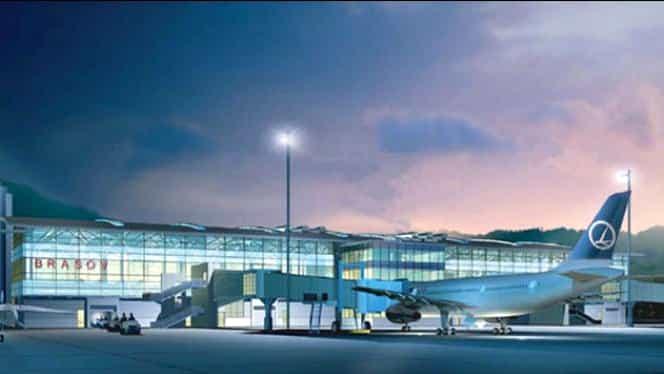Construcțiile pentru aeroportul din Brașov au început!