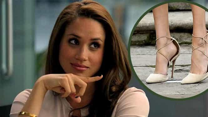 Motivul pentru care Meghan Markle poartă pantofii cu un număr mai mare