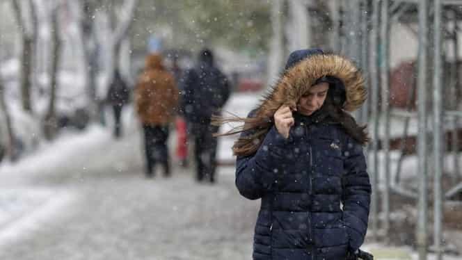 ALERTĂ ANM! Vine frigul peste România! Ninge la munte și temperaturile scad dramatic în toată țara