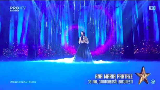 """Mihai Petre, fascinat de Ana Maria Pantaze la Românii au talent: """"Eşti reţeta câştigătoare"""""""