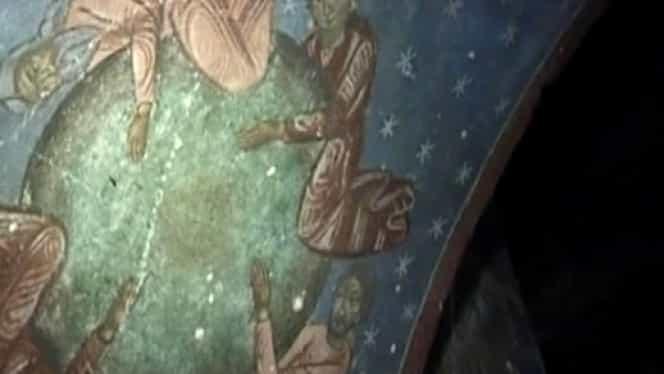 Descoperire uimitoare. 13 scene pictate într-o biserică românească prevestesc Apocalipsa