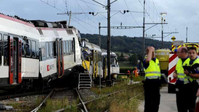 Accident feroviar cu 30 de victime în Elveţia! În tren se aflau 100 de pasageri!