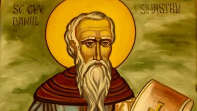 18 decembrie, zi de post pentru credincioși! Sărbătoare cu cruce neagră: Cuviosul Daniil Sihastru