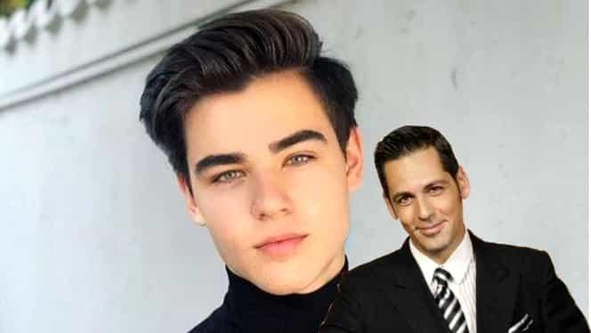 Radu, fiul lui Ștefan Bănică este o frumusețe rară! A împlinit 16 ani și îi calcă pe urme tatălui său