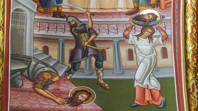 Când e tăierea capului Sfântului Ioan Botezătorul. Ce este interzis cu desăvârşire în această zi