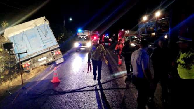 Care este starea de sănătate a persoanelor rănite în accidentul din Ialomița. O persoană este încă intubată