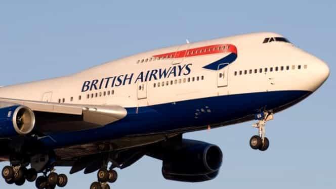 Un avion al British Airways a aterizat de urgență. Mai mulți membri ai echipajului au ajuns la spital
