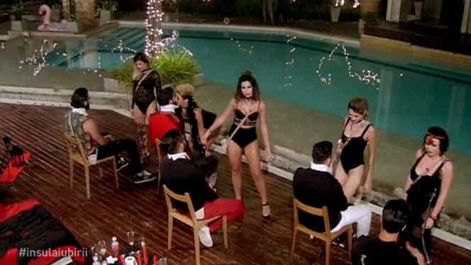 Dezmăț total aseară la Insula Iubirii, pe Antena 1. Costumații indecente și dansuri lascive. VIDEO
