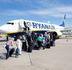 Un avion Ryanair București – Berlin a ratat decolarea de pe Aeroportul Otopeni