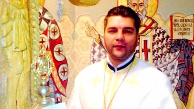 Un preot amenință că își dă foc la sfințirea Catedralei Mântuirii Neamului