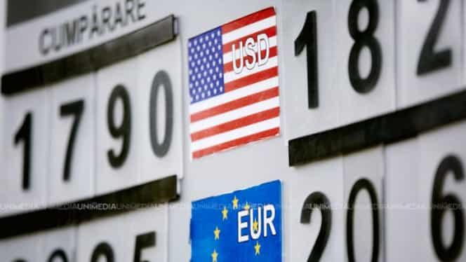 Curs valutar BNR azi, 8 ianuarie 2019. Dolarul, euro și lira sterlină au crescut