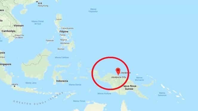 Cutremur de 6 grade pe scara Richter în Indonezia, la o adâncime de 33 de kilometri. Cercul de foc al Pacificului, extrem de activ în ultimele ore