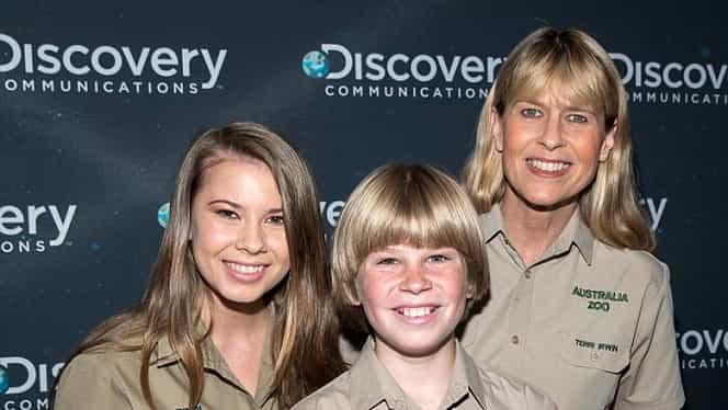 """Urmaşii faimosului """"vânător de crocodili"""" Steve Irwin revin pe micile ecrane GALERIE FOTO"""