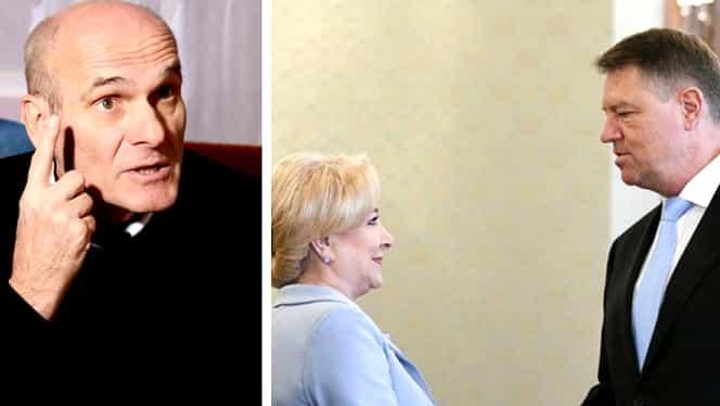 """Cristian Tudor Popescu: """"Dăncilă l-a dat afară pe domnul Iohannis"""""""