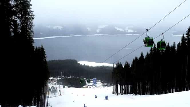 Ninsori abundente în România, azi noapte. Stratul de zăpadă a ajuns la 20 de centimetri pe Transalpina
