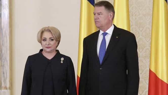 Viorica Dăncilă i-a răspuns lui Klaus Iohannis! Cum l-a sfidat premierul pe preşedinte