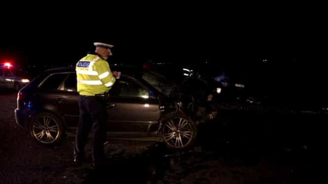 Accident la ieșirea din Buzău, pe Drumul European E85. 5 persoane au fost rănite