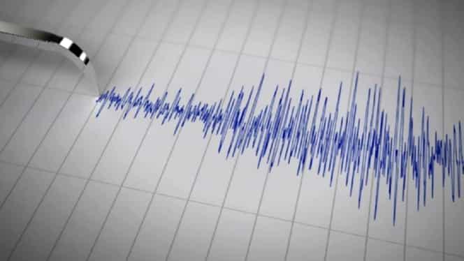 Cutremur în Vrancea azi noapte. Seismul a avut magnitudinea de 2,9 grade pe scara Richter