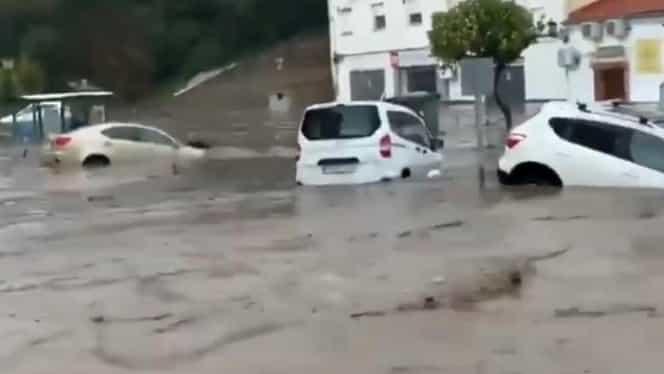 Furtuna Elsa a ucis până acum 5 persoane! A făcut prăpăd în Spania și Portugalia