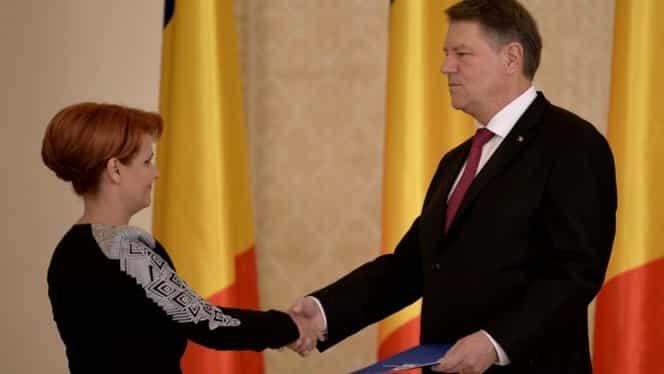 """Fost Avocat al Poporului: """"Iohannis va fi obligat să semneze pentru Lia Olguța Vasilescu"""""""