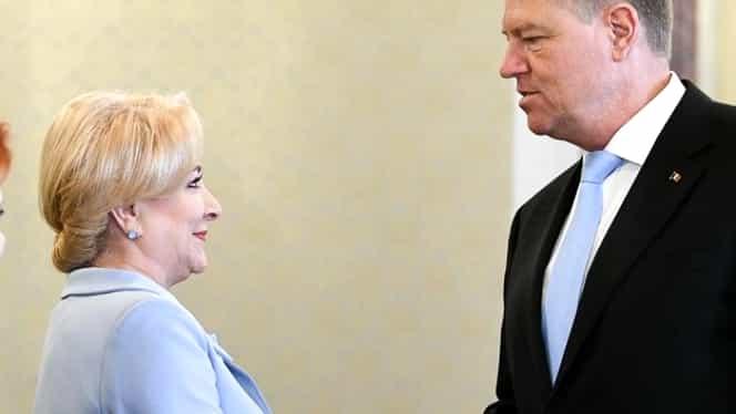 """Viorica Dăncilă, somație publică pentru Klaus Iohannis! """"Să respecte Constituția"""""""