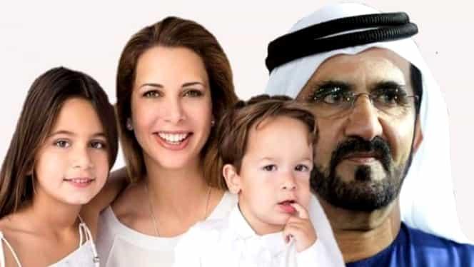 Şeicul din Dubai se răzbună pe prinţesa Haya, după ce l-a părăsit. Vrea să îi ia custodia copiilor