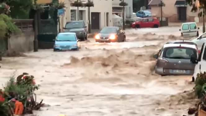 Cod roșu de vreme severă, în Franța! Sunt mai multe victime