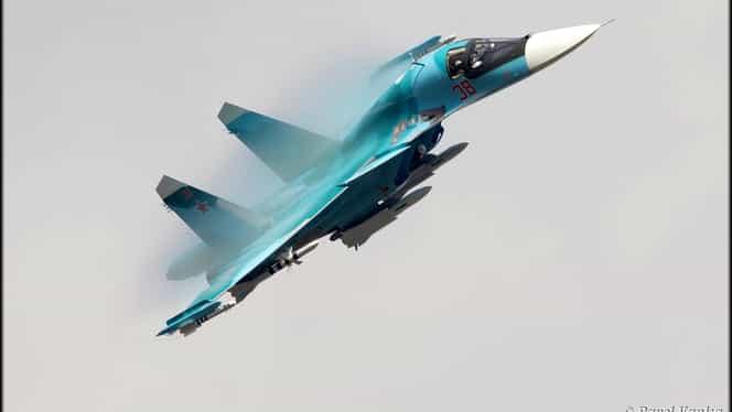 Accident aviatic în Rusia! Două avioane de luptă s-au ciocnit
