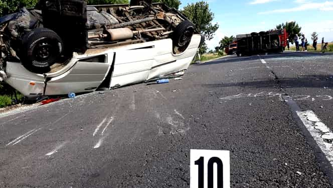 Accident teribil în Bihor! Patru persoane au murit!
