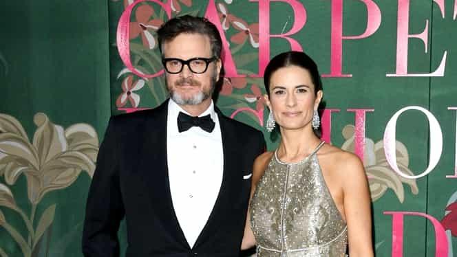 Actorul Colin Firth divorțează după 22 de ani de căsnicie. Motivul ar fi infidelitatea soției sale
