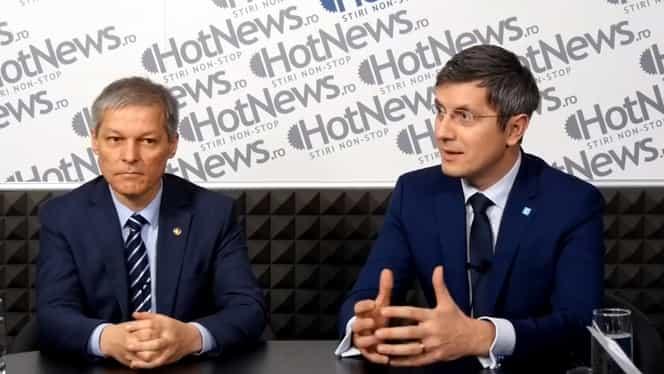 Dacian Cioloș, premierul alianței USR / Plus! Anunțul făcut de Dan Barna