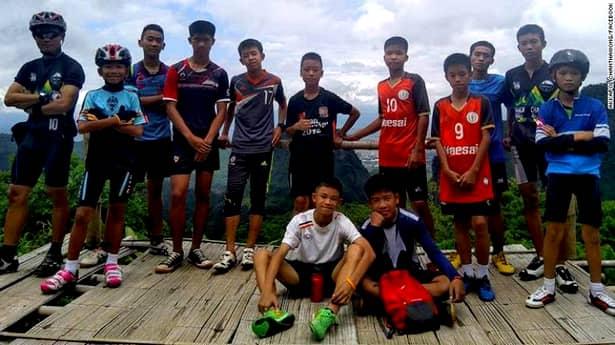 Copiii blocați într-o peșteră din Thailanda, mesaj de ultim moment!