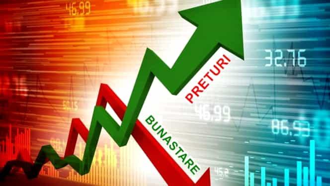Institutul Național de Statistică(INS): Cresc prețurile până la finalul anului