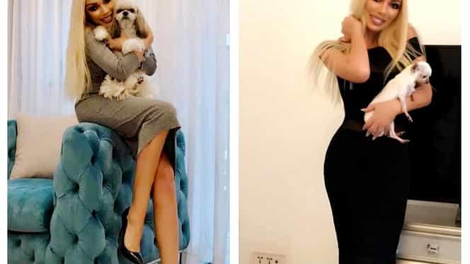 Diana Lucan este noua Paris Hilton de România! Câinii ei trăiesc într-o vilă de lux