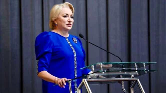 Probleme pentru Viorica Dăncilă, chiar de ziua ei. Colegii îi pun bețe-n roate la organizația de femei a PSD